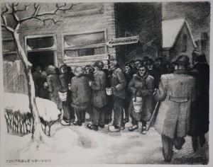 F-Drost-Centrale-keuken-hongerwinter-1945