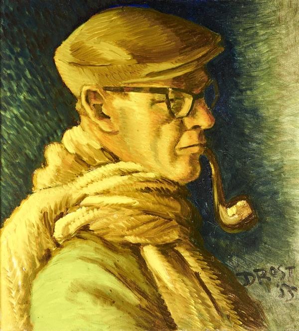 Fre Drost zelfportret