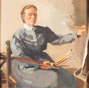 Ima van Eysinga, 'Portret van Blanche Douglas Hamilton'