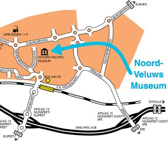 Plattegrond Nunspeet Noord-Veluws Museum