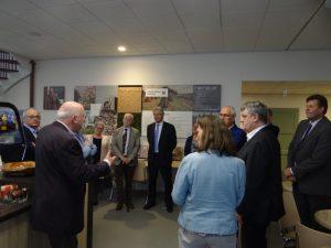 Burgemeesters bezoeken Noord-Veluws Museum