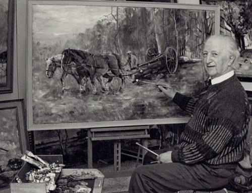 Hangt uw schilderij van Jaap Hiddink binnenkort in het Noord-Veluws Museum?
