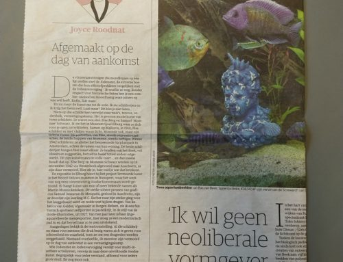 Artikel in NRC Handelsblad (Cultureel Supplement)